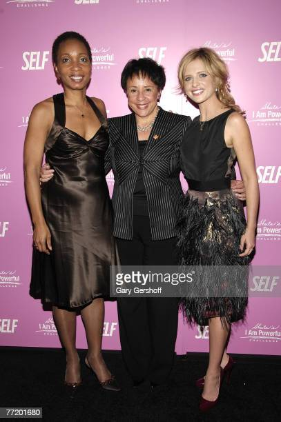 President and CEO CARE Helene Gayle CEO of Salamander Hospitality President of The Washington Mystics Sheila Johnson and Actress Sarah Michelle...
