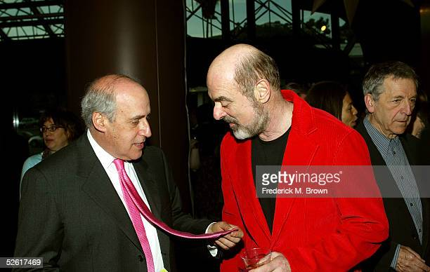 President and CEO Dan Glickman and Mark Lichtman attend the opening night reception for the 9th Annual City of Lights, City of Angels Film Festival...