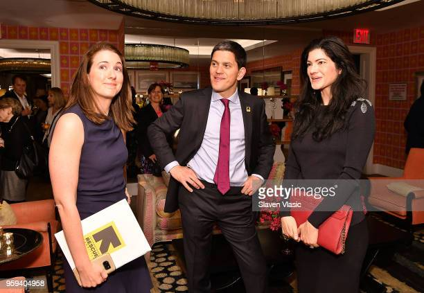 President and CEO David Miliband and guests attend 'This is Home A Refugee Story' New York Premier Screening at Crosby Street Hotel on May 16 2018 in...