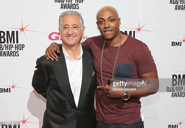 President and CEO Del Bryant and Mystikal attend the 2013 BMI RB/HipHop Awards at Hammerstein Ballroom on August 22 2013 in New York City