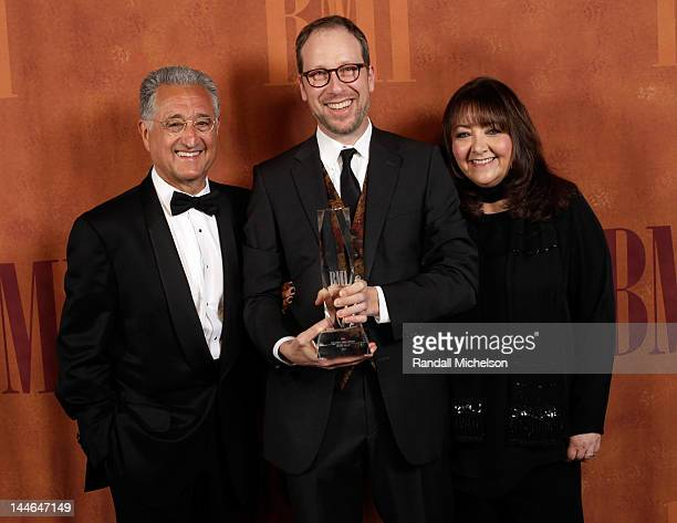 President and CEO Del Bryant, BMI Richard Kirk Award recipient Rolfe Kent, and BMI vice president of film and television relations Doreen Ringer Ross...