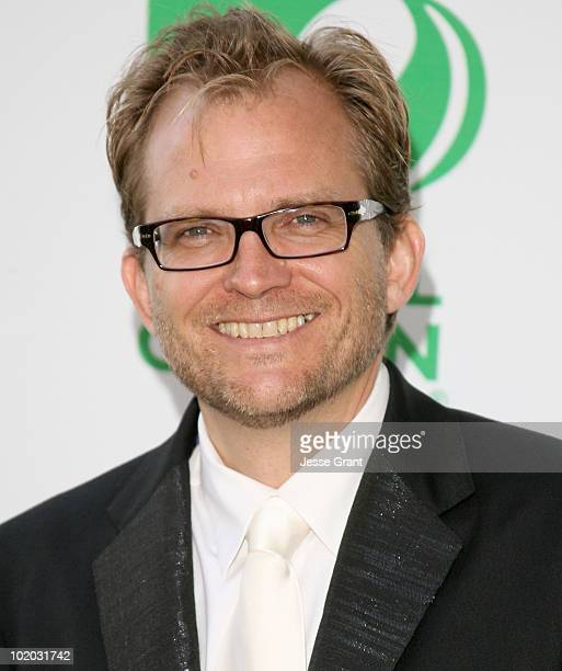 President and CEO Matt Petersen arrives at Global Green USA's 14th Annual Millennium Awards at the Fairmont Miramar Hotel on June 12 2010 in Santa...
