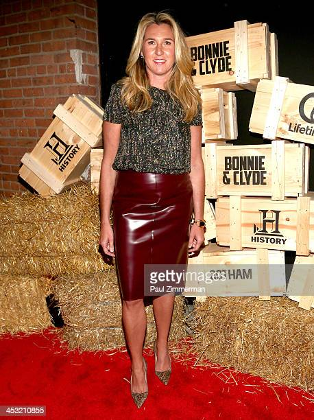 President and CEO of AE Nancy Dubuc attends the Bonnie And Clyde series premiere at The McKittrick Hotel on December 2 2013 in New York City