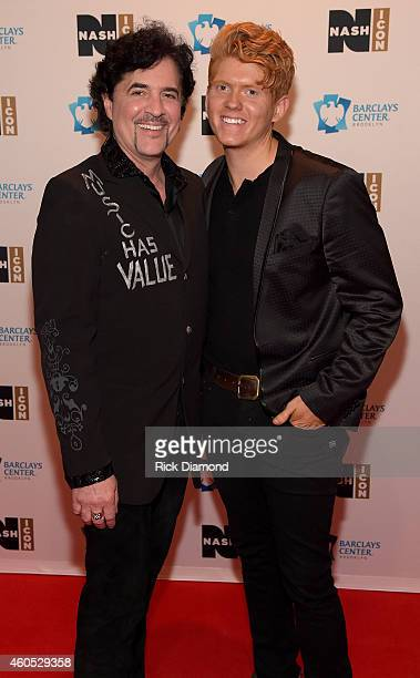 President and CEO of Big Machine Label Group Scott Borchetta and Seth Alley attend the Inaugural Nash Icon ACC Awards postshow party honoring Reba as...