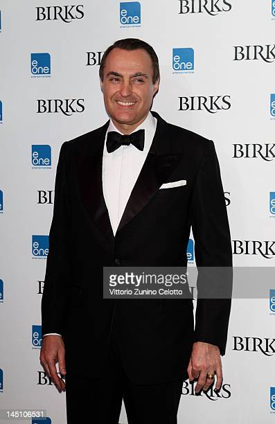 President and CEO of Birks JeanChristophe Bedos attends Telefilm Canada's Tribute To Canadian Talent Presents The Birks Canadian Diamond Prize during...