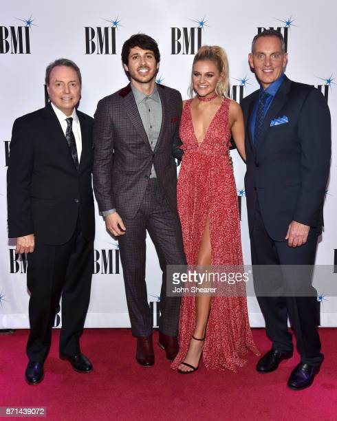 President and CEO of BMI Mike O'Neill singersongwriters Morgan Evans and Kelsea Ballerini and BMI Vice President Creative Nashville Jody Williams...