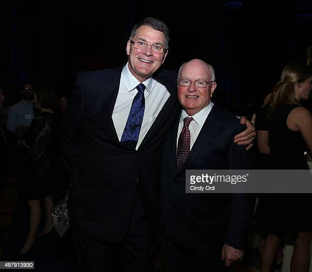President and CEO of Cystic Fibrosis Foundation Preston W Campbell MD and Former President and CEO of Cystic Fibrosis Foundation Robert J Beall PhD...