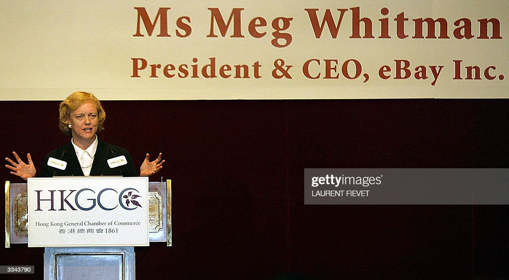 President And Ceo Of Ebay Meg Whitman Addresses Attendees From The News Photo Getty Images