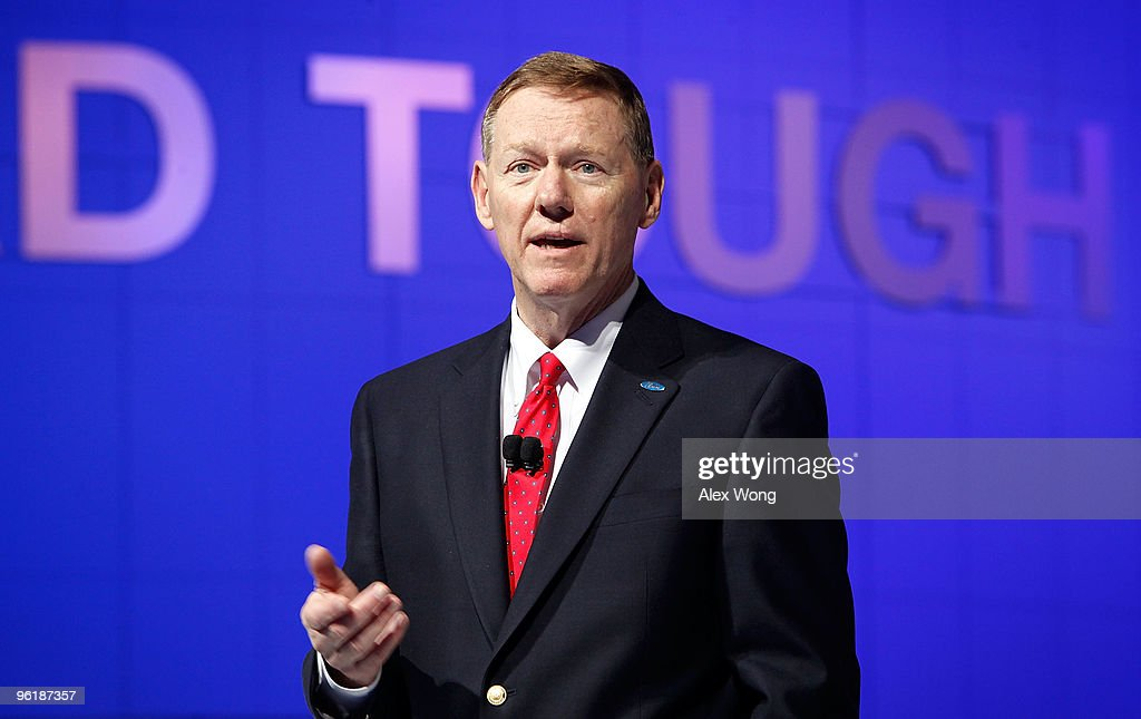 Ford CEO Alan Mullaly Delivers Keynote At The Washington Auto Show