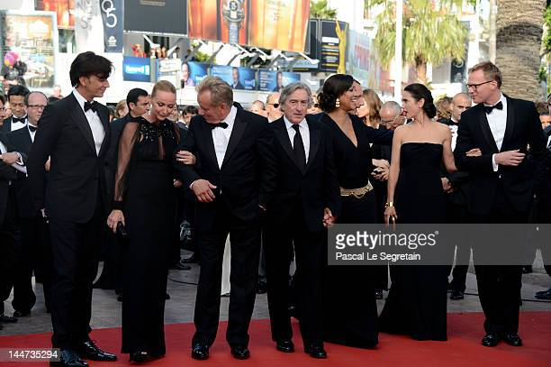 President and CEO of Gucci, Patrizio di Marc, Creative director of Gucci Frida Giannini, James Woods, Robert De Niro, wife Grace Hightower, actress...
