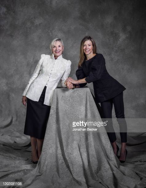 President and CEO of home health powerhouse THA Group Ellen Bolch and daughter Meredith Dulany pose for a portrait at the Savannah Film Festival on...