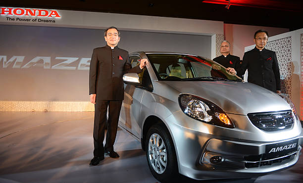 President And CEO Of Honda Cars India Limited Hironori Kanayama L Managing