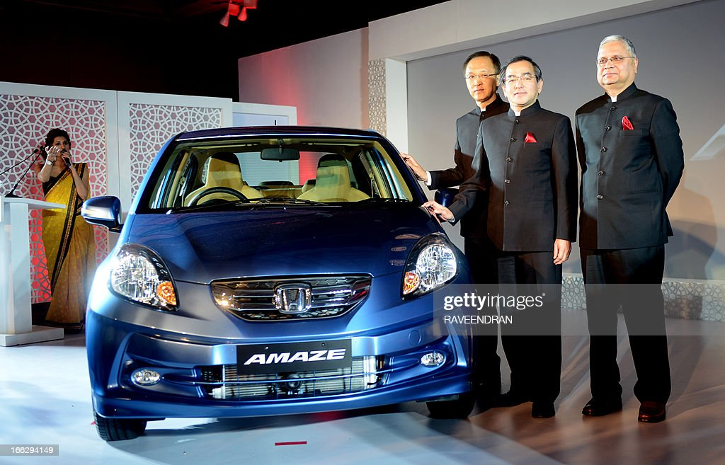 President And CEO Of Honda Cars India Limited Hironori Kanayama C Managing