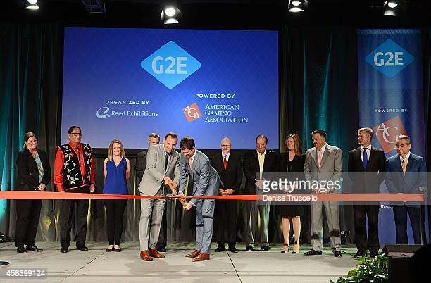 President and CEO of Isle of Capri Casinos Virginia McDowell Chariman of the National Indian Gaming Association Ernie StevensCEO of International...