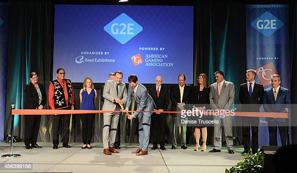 President and CEO of Isle of Capri Casinos Virginia McDowell Chariman of the National Indian Gaming Association Ernie Stevens CEO of International...