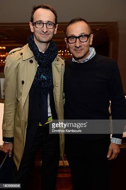 President and CEO of J Mendel Marc Durie and designer Gilles Mendel attend ASSOULINE Martine and Prosper Assouline host a book signing for Ketty...