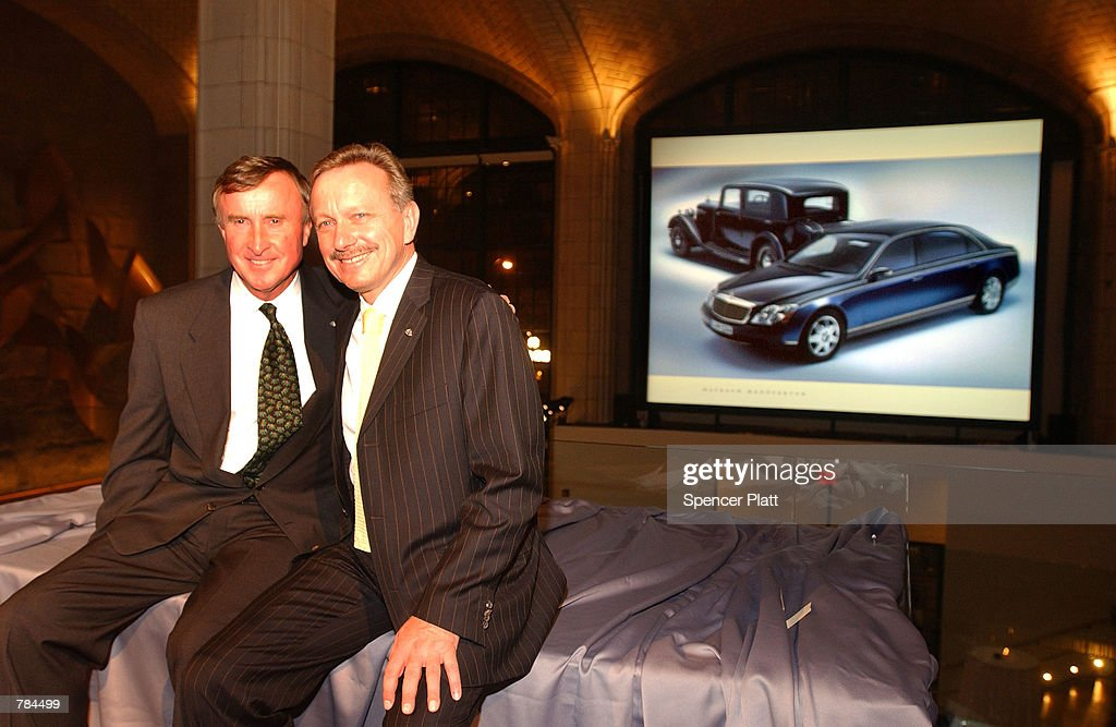 president and ceo of mercedes benz u s a paul halata and designer news photo getty images. Black Bedroom Furniture Sets. Home Design Ideas