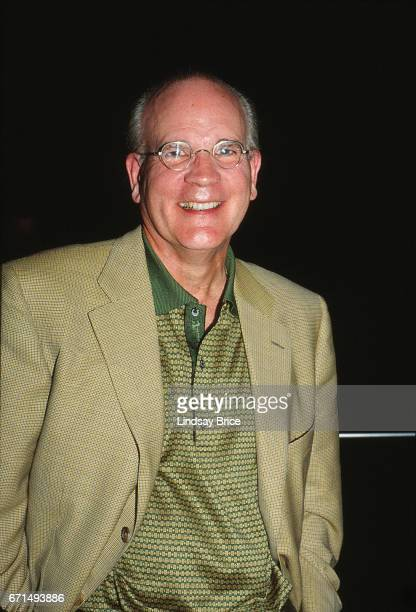 President and CEO of NBC Bob Wright pausing for a photograph at the party he and his wife Suzanne gave at the Nantucket Film Festival on June 19 1998...