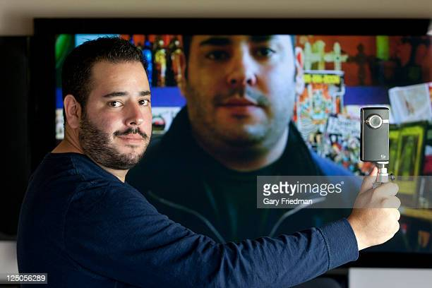 President and CEO of Periscope Entertainment David Guy Levy is photographed for Los Angeles Times on June 13 2011 in Los Angeles CaliforniaCREDIT...