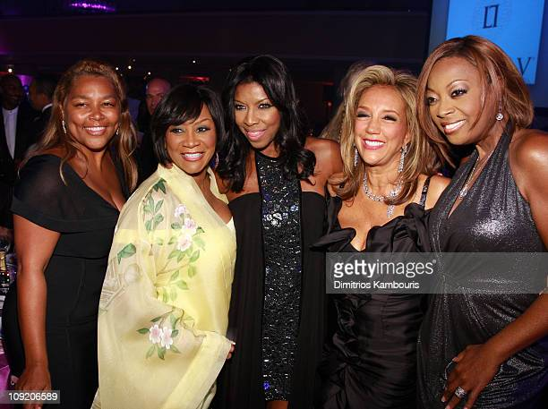 President and CEO of PrimeTime Omnimedia Marilyn Crawford singer Patti LaBelle singer Natalie Cole Founder of GP Foundation Denise Rich and Star...