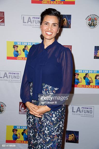 President and CEO of LA Promise Fund Veronica Melvin attends the LA Promise Fund Screening Of Hidden Figures at USC Galen Center on January 10 2017...