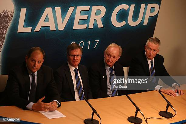 President and CEO of TEAM8 Tony Godsick. Tennis Australia President Stephen Healy, Australian tennis great Rod Laver and Chief Executive Officer,...