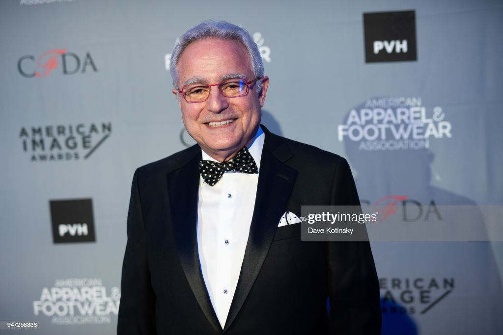 President and CEO of the American Apparel & Footwear Association, Rick Helfenbein arrives at the American Apparel & Footwear Association's 40th Annual American Image Awards on 2018 on April 16, 2018 in New York City.
