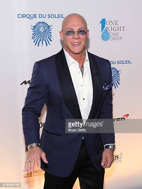 President and CEO of the Brenden Theater Corp Johnny Brenden attends the fourth annual One Night for ONE DROP imagined by Cirque du Soleil a show...