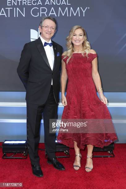 President and CEO of the Latin Academy of Recording Arts Sciences Gabriel Abaroa Jr attends the 20th annual Latin GRAMMY Awards at MGM Grand Garden...