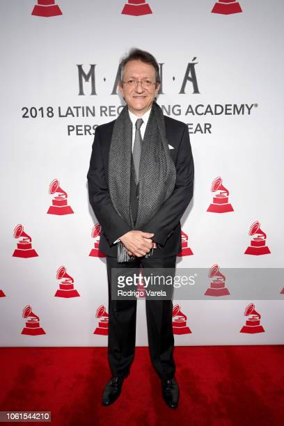 President and CEO of the Latin Recording Academy Gabriel Abaroa attends the Person of the Year Gala honoring Mana during the 19th annual Latin GRAMMY...