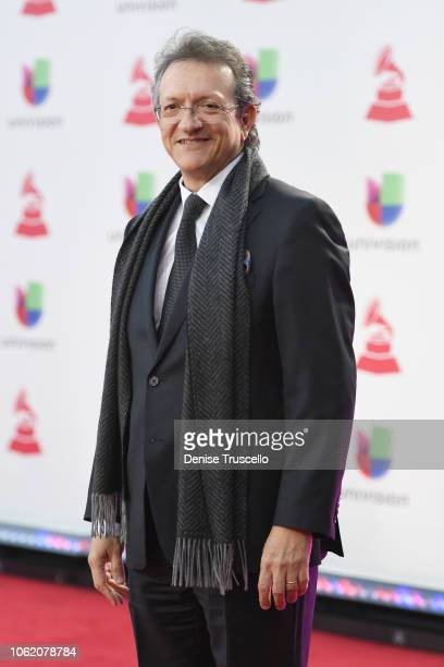 President and CEO of the Latin Recording Academy Gabriel Abaroa attends the 19th annual Latin GRAMMY Awards at MGM Grand Garden Arena on November 15...