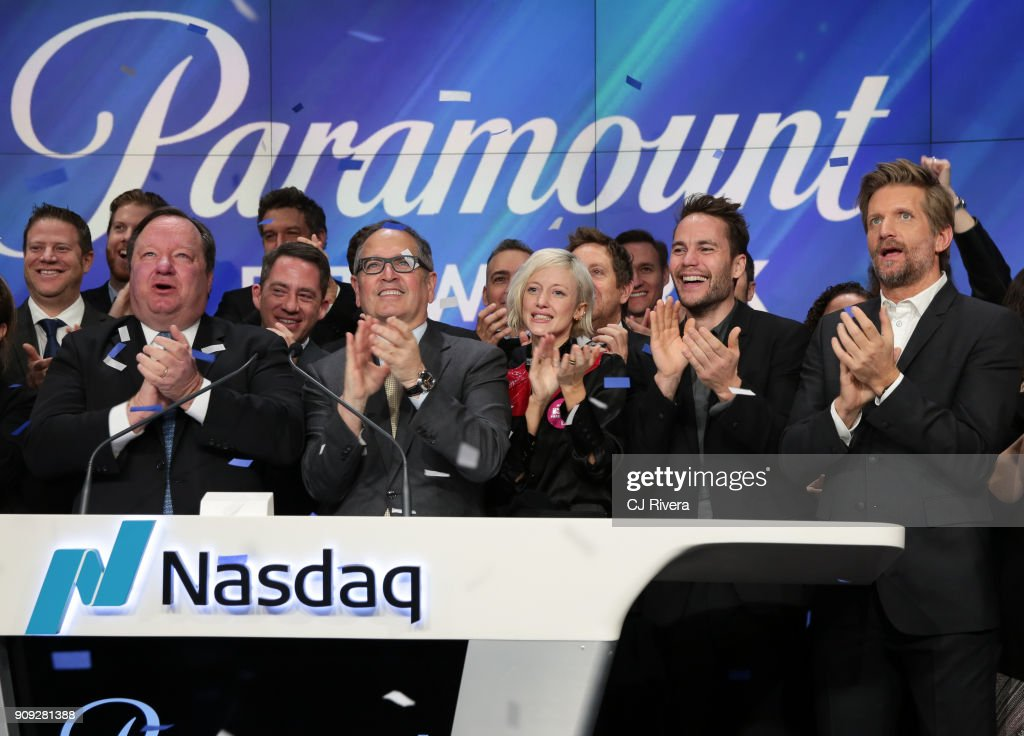 "Paramount Network And Cast Of ""Waco"" Ring Nasdaq Opening Bell"