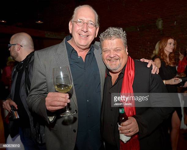 President and CEO of Warner Music Nashville John Esposito and songwriter Craig Wiseman attend the Inaugural Nash Icon ACC Awards postshow party...