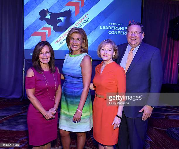 President and CEO of WICT Maria E Brennan CoHost of NBC's Today Hoda Kotb Chief Talent Development Officer and SVP of Comcast Cable Martha Soehren...