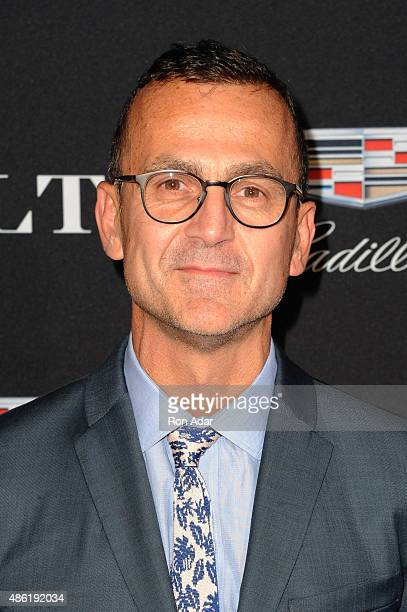 President and CEO Steven Kolb attends the Cadillac Capsule Clothing Collection Launch at Classic Car Club on September 1 2015 in New York City