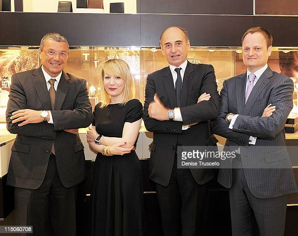 President and CEO TAG Heuer JeanChristophe Babin Vice President of Strategic Planning TAG Heuer North America Alyssa Mishcon Worldwide President of...