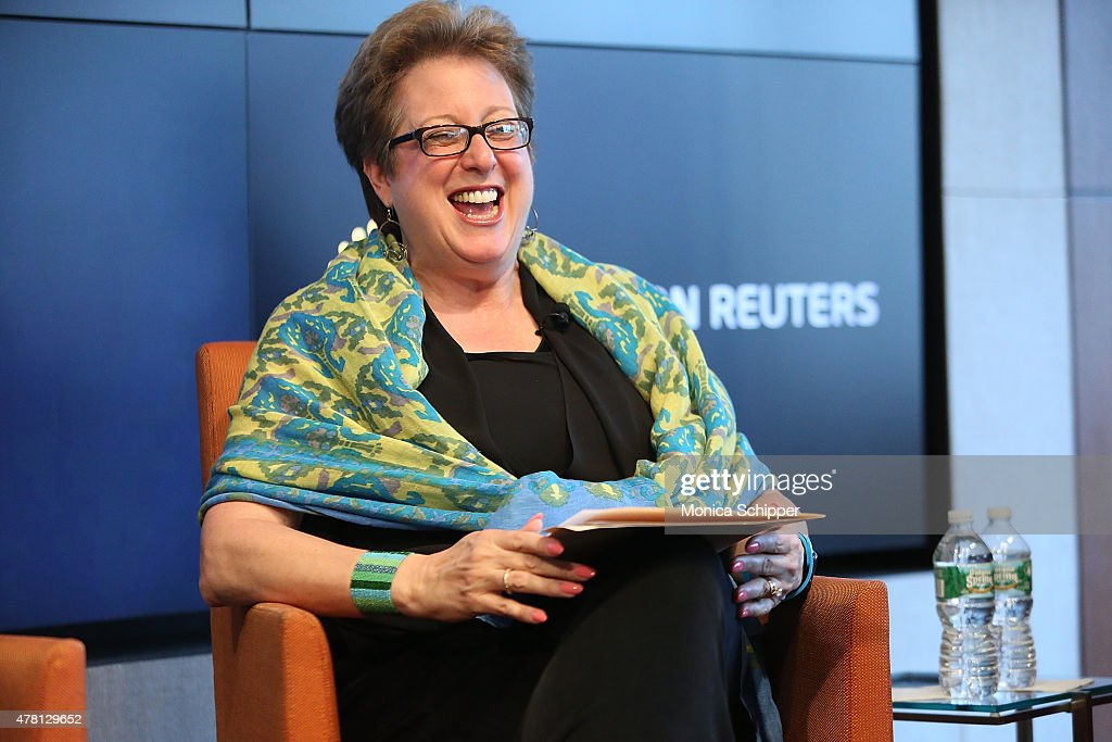 President and CEO, U.S. Fund For Unicef, Caryl M. Stern, speaks at the Beyond Soccer Series Powered By streetfootballworld at Thomson Reuters Building on June 22, 2015 in New York City.