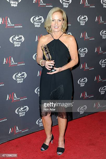 CEO President and Chairman Brown Shoe Company Diane Sullivan attends the 2015 AAFA American Image Awards on April 27 2015 in New York City