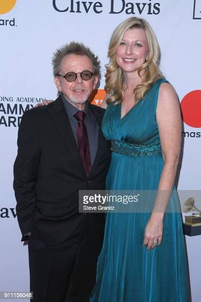President and Chairman Paul Williams and ASCAP CEO Beth Matthews attend the Clive Davis and Recording Academy PreGRAMMY Gala and GRAMMY Salute to...
