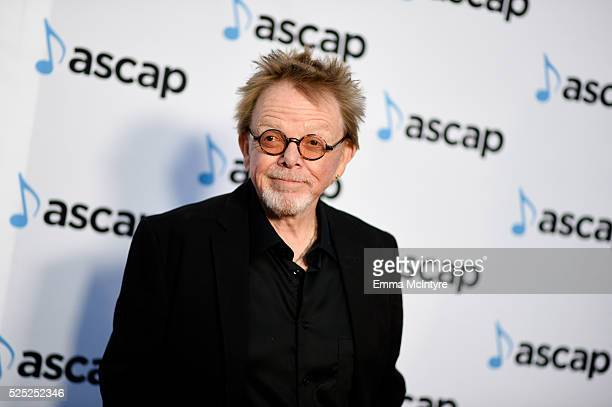President and Chairman Paul Williams attends the 33rd Annual ASCAP Pop Music Awards at Dolby Theatre on April 27 2016 in Hollywood California