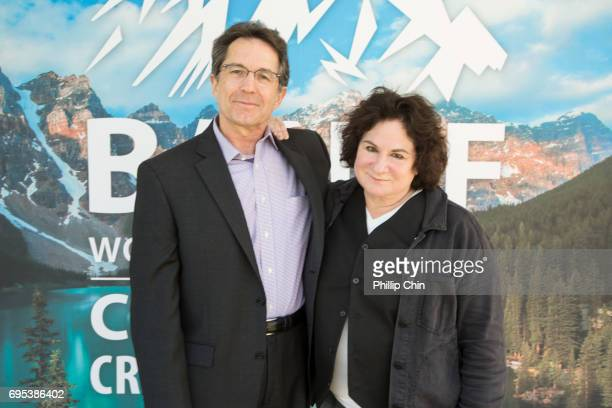President and Chief Creative Officer Disney Channels Worldwide Gary Marsh and Terri MInsky Disney Show Creator of 'Andi Mack' attend the 2017 Banff...