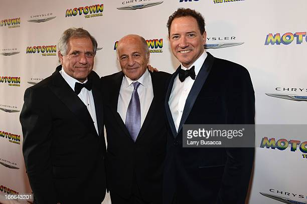 President and Chief Executive Officer of CBS Corporation Leslie Moonves, Chairman and CEO of Sony Music Entertainment Doug Morris, and Producer Kevin...