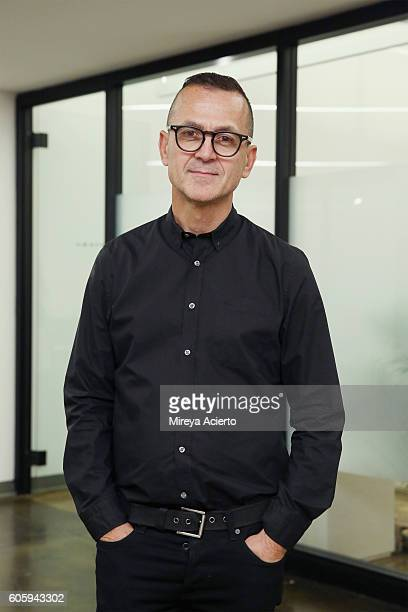 President and chief executive officer of CFDA Steven Kolb attends CFDA {Fashion Incubator} Market Day presentation during New York Fashion Week...