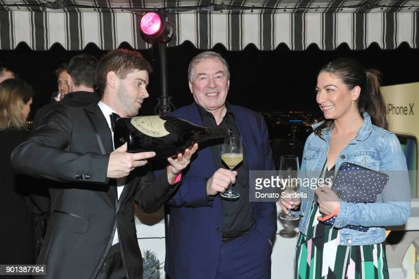 President and Chief Executive Officer of Moet Hennessy USA Inc Jim Clerkin and Rachel Clerkin attend W Magazine's Celebration of its 'Best...
