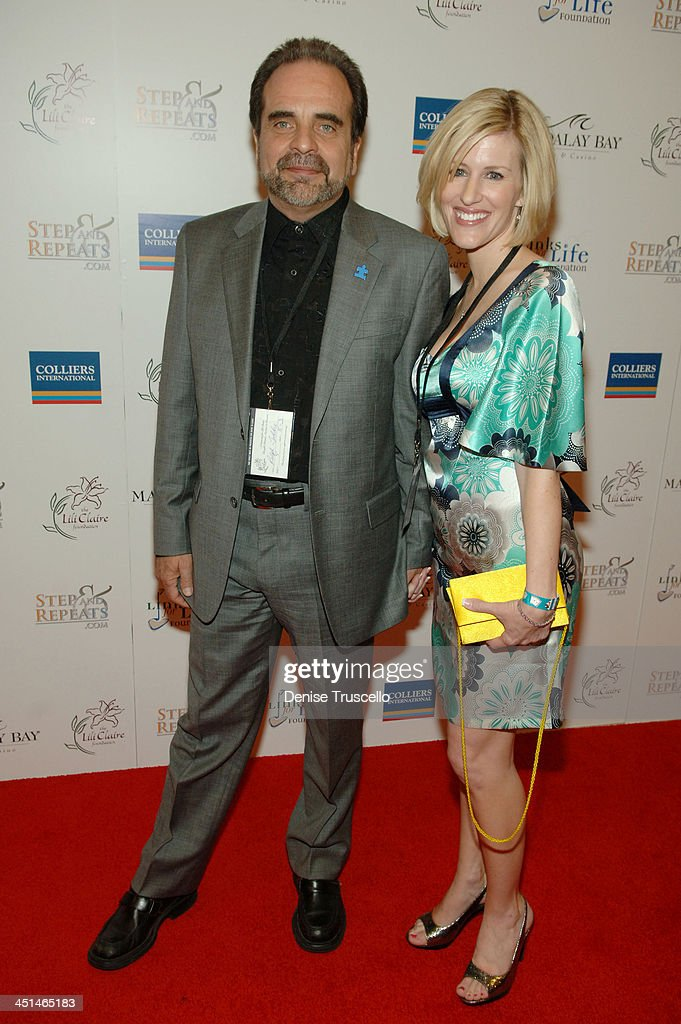 President and Chief Executive Officer of Sunbelt Communications Companey Ralph Toddre and Meredith Toddre arrive at the 2008 Lili Claire Foundations Benefit Concert at Mandalay Bay Resort & Casino Events Center on April 26, 2008 in Las Vegas, Nevada.