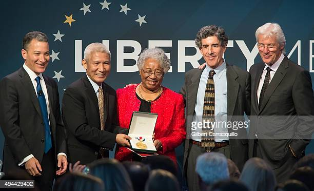 President and Chief Executive Officer of the National Constitution Center Jeffrey Rosen principal English translator to the Dalai Lama Thupten Jinpa...
