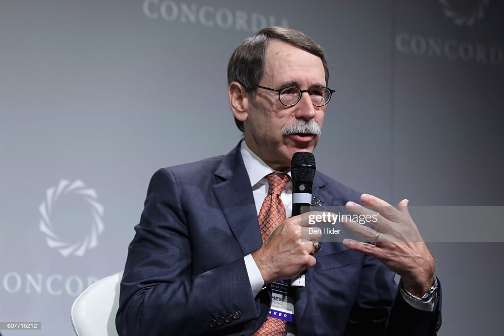 President and Chief Executive Officer, St. Jude Children's Research Hospital, Dr. James R. Downing speaks at the 2016 Concordia Summit - Day 1 at Grand Hyatt New York on September 19, 2016 in New York City.