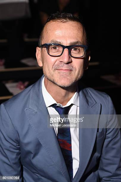 President and Chief of The CFDA Steven Kolb attends the Cushnie Et Ochs fashion show during New York Fashion Week The Shows at The Dock Skylight at...