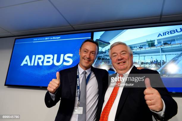 President and Chief Operating Officer of Airbus Commercial Aircraft Fabrice Bregier and Chief Operating Officer of Airbus Customer Services John...