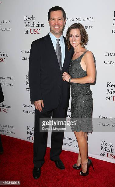 President and Chief Operating Officer of DreamWorks Studios Jeff Small and wife attend the USC Institute of Urology Changing Lives and Creating Cures...